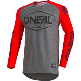ONeal Mayhem Lite Koszulka kolarska, długi rękaw Mężczyźni Hexx szary/czerwony